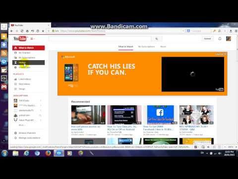 How To Delete Your YouTube Search History/Watch History [2015]