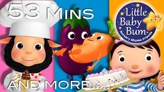 Food Songs   Part 2   Plus Lots More Nursery Rhymes   53 Minutes Compilation from LittleBabyBum!