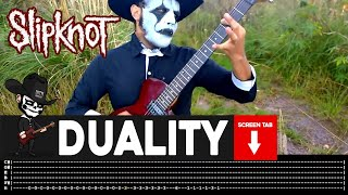 Slipknot - Duality (Guitar Cover by Masuka W/Tab)