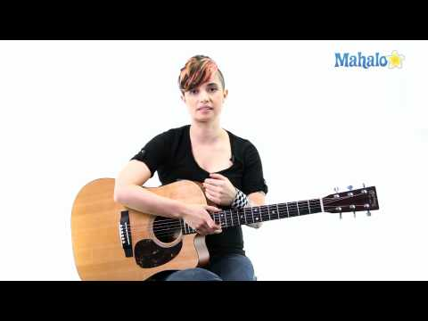 Learn Guitar: How to Hold the Guitar