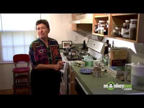 Herbal Tea Using Commercial Tea Bags