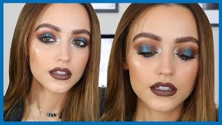 COOL TONED GRUNGE   CHATTY GRWM - Pop of Blue