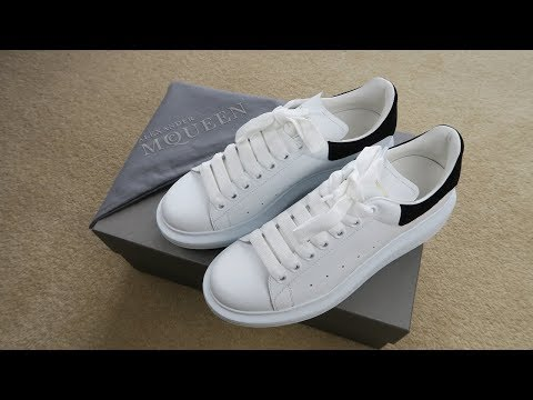 83a805a86c0 A Closer Look At Alexander Mcqueen Oversized Sneakers Review And Unboxing