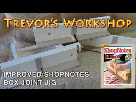 improving the shopnotes box joint jig (ShopNotes magazine issue #62)