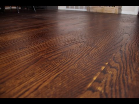 Staining Wood Floors