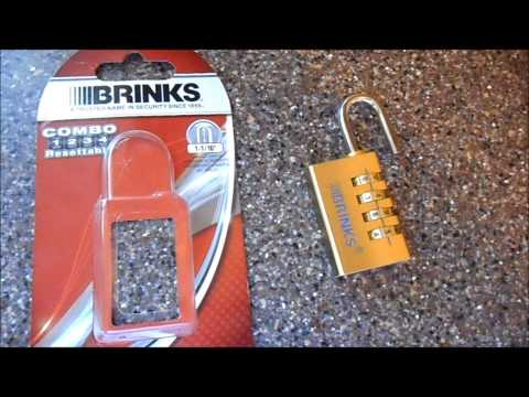 Brinks combo lock review