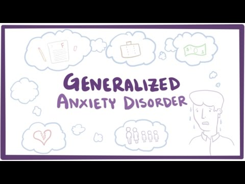 Generalized anxiety disorder (GAD) - causes, symptoms & treatment
