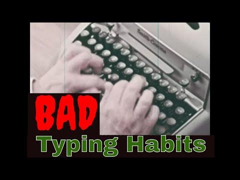CORRECTING BAD TYPING HABITS WITH THE SMITH CORONA ELECTRIC TYPEWRITER 63024