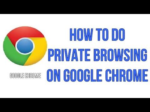 Google Private Browsing   Incognito Mode in Google Chrome [Hindi]