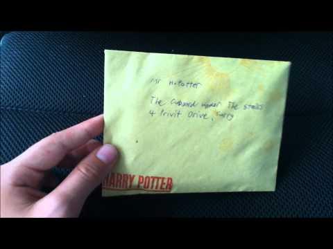 Homemade Hogwarts Acceptance Letter