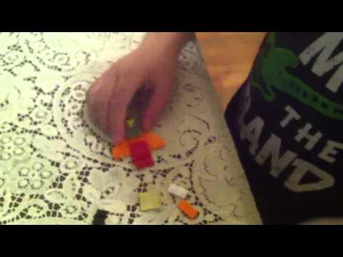 Mini Lego Transformer Laserbeak