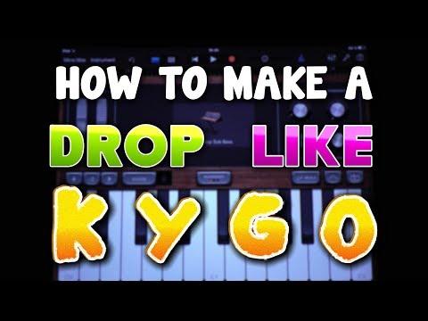 How to make a DROP like Kygo in Garageband (iPad & iPhone)