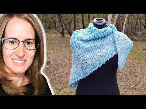 Cakes two to tango crochet shawl tutorial