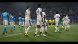 Djurgårdens IF vs Napoli - 2-0 - Champions Cup Semi (Fifa 17, Career Mode)