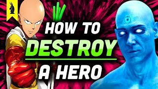 Watchmen vs. One Punch Man: How To Destroy A Hero – Wisecrack Edition