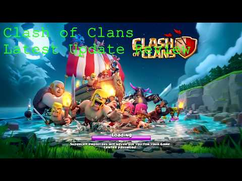 CLASH OF CLANS NEW ISLAND - REVIEW & MORE