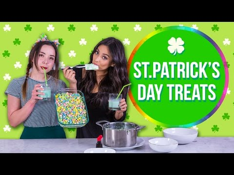 St Patty's Inspired Rice Krispies Treats | Shay's Kitchen