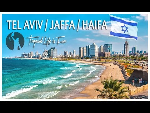 ISRAEL - Tel Aviv / Jaffa / Haifa - Land of Creation (4K)