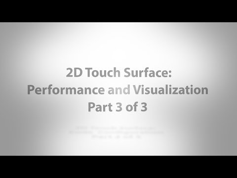 2D Touch Surface: Performance and Visualization - Part 3 of 3