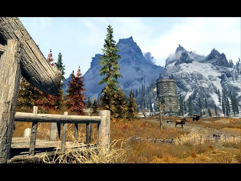 Atmospheres of Skyrim 01: Ruined house near Whiterun