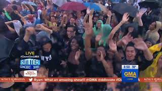 Demi Lovato & Cheat Codes - No Promises (Live on Good Morning America) - August 18