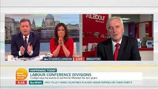 John McDonnell Comments on Illegal Striking | Good Morning Britain