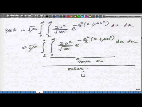Lecture 09: Exact BER Expression for Rayleigh Fading Wireless Channel