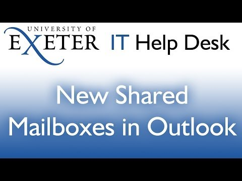 Outlook: New Shared Mailbox Profile