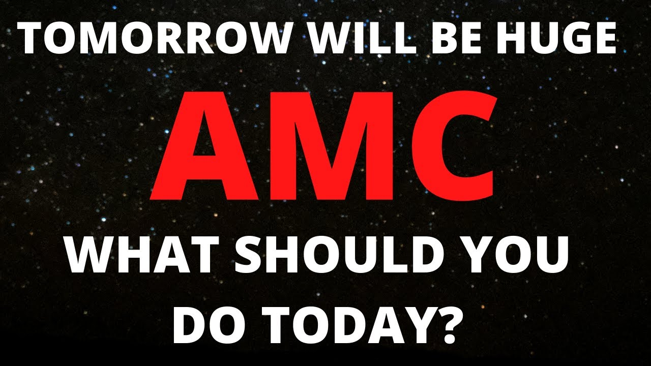 AMC STOCK SHORT SQUEEZE THE END IS NEAR