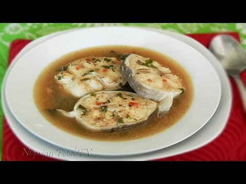 Nigerian Catfish Pepper Soup (point and kill)
