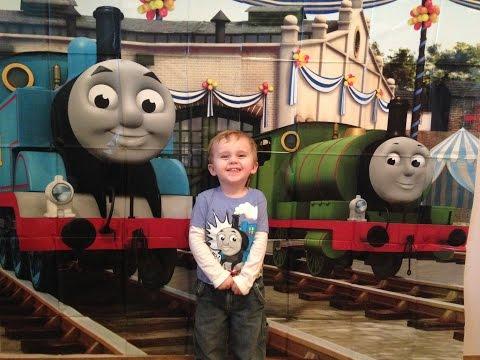 Jackson's Thomas the Train 3rd Birthday Party