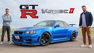 R34 Nissan Skyline GT-R V-Spec II Review // The Holy Grail Of JDM