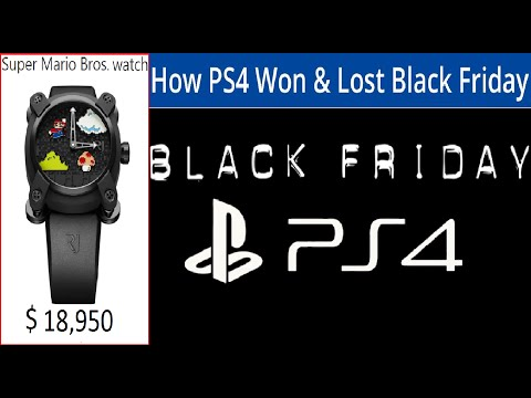 Sony Unlocks Seventh PS4 Core. How PS4 Won and Lost Black Friday. Super Mario Bros. watch  $18,950.