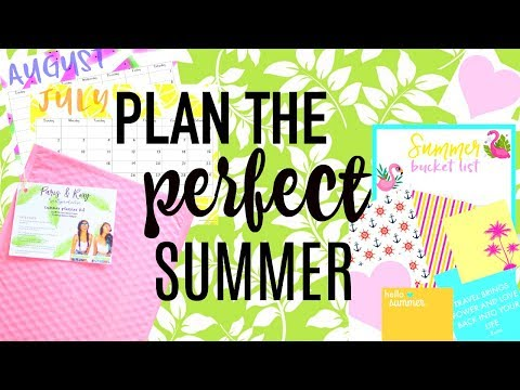 PLAN THE PERFECT SUMMER- how to use a travel journal, scrapbooking & more!!!! | Paris & Roxy