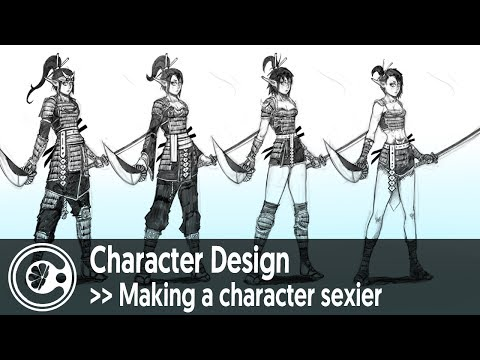 Character Design: Making a character sexier