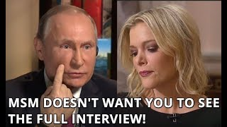 EXCLUSIVE FULL UNEDITED Interview of Putin with NBC