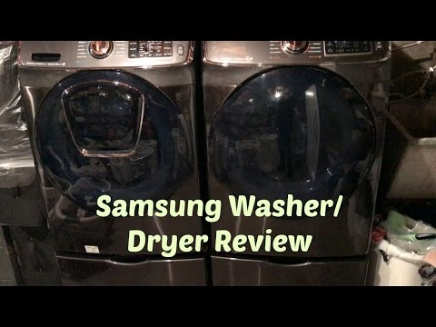 Samsung 7500 Series Washer & Dryer Review