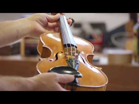 How to polish a Violin