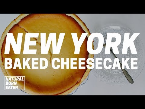 How to Make Easy Homemade New York Style Cheesecake 2017   Natural Born Eater