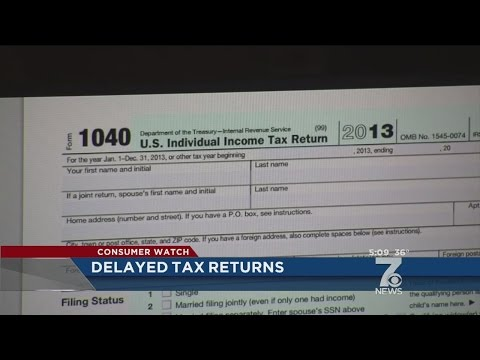 State tax refund checks could be delayed