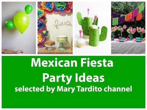 Fiesta Cinco de Mayo Party Ideas Decorations – Mexican Fiesta Party Ideas