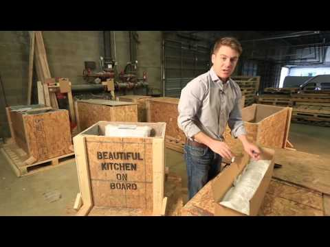 How To Install Granite Tile Countertop (1 of 6) - Receiving Your Lazy Granite Kitchen