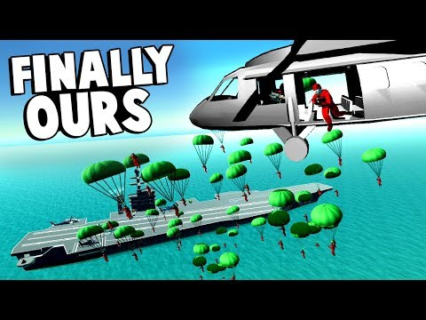 Download 50 Man Helicopter Paradrop To Take Over The Carrier In