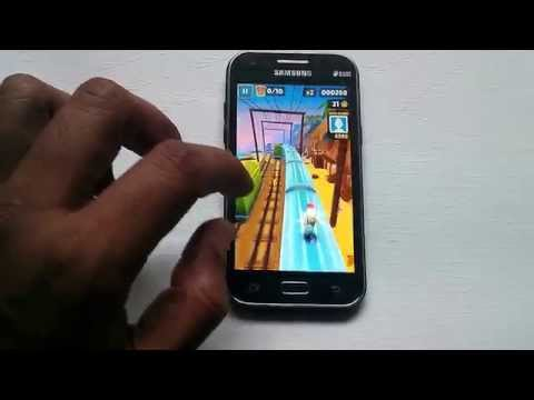 Samsung Galaxy J1 Gaming Review - Subway Surfers GamePlay