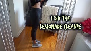 Master Cleanse Update Before And After