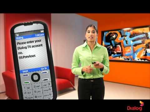 Check DTV Account Balance via USSD - Handy Hints from Dialog Axiata [Sinhala]