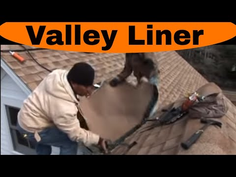 Repairing Valley on Shingle roof