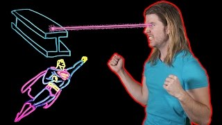 How Does Superman's Heat Vision Work? (Because Science w/ Kyle Hill)
