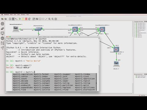 IPython: Powerful interactive Python shell - easy command line for network engineers.