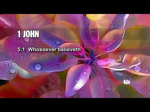BORN AGAIN, Part 2, The Proofs that One Really Belives in God, 1 John 5:1-5